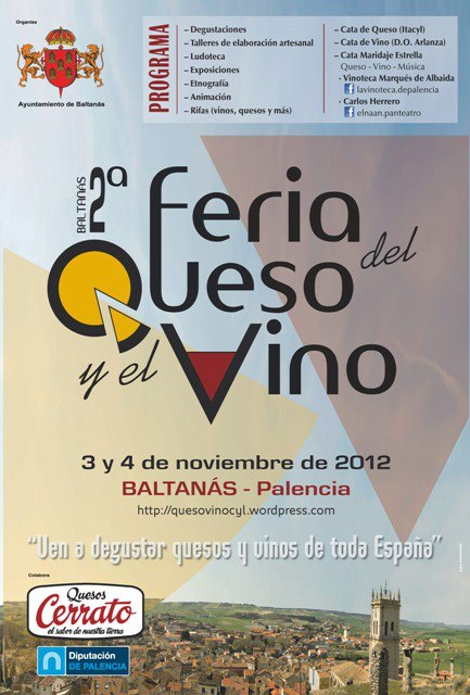 FERIA QUESO Y VINO – BALTANÁS - Events - Feria