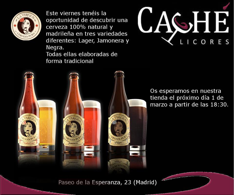 Cata cerveza La Virgen Event Category: Cata - Country: Spain - Town: Madrid