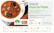 Vote na Sopa da Pedra para Maravilha da Gastronomia  Event Category: Gastronomia - Country: Portugal - Town: Portugal Inteiro