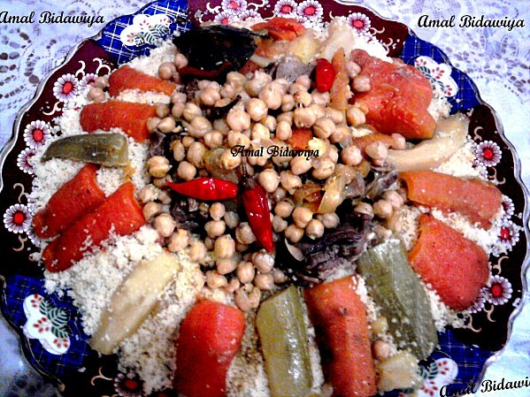 Couscous Marocain Recipe - Other, Lunch, Moroccan - Maghreb recipes,