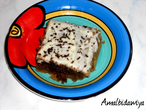 cake moelleux Recipe by amalbidawiya - Recipe Course: Breakfast - Recipe Type: Baking & Breads - Recipe Cuisine: Moroccan - Maghreb recipes