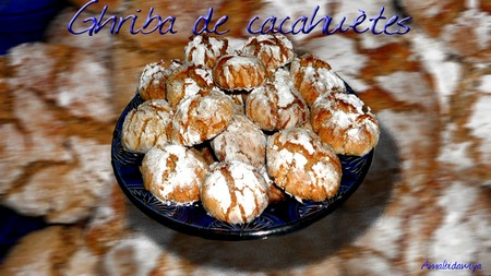 Ghriba aux sésame, coco et cacahuètes Recipe by Amal Marzak - Recipe Course: Afternoon Tea - Recipe Type: Baking & Breads - Recipe Cuisine: Moroccan - Maghreb recipes