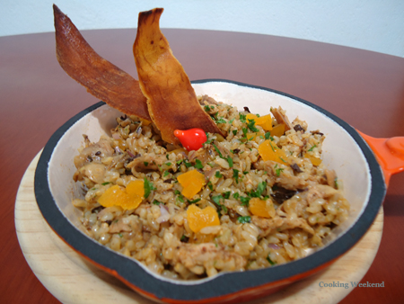 Galinhada com Arroz Cateto Recipe - Poultry, Lunch, American recipes, 