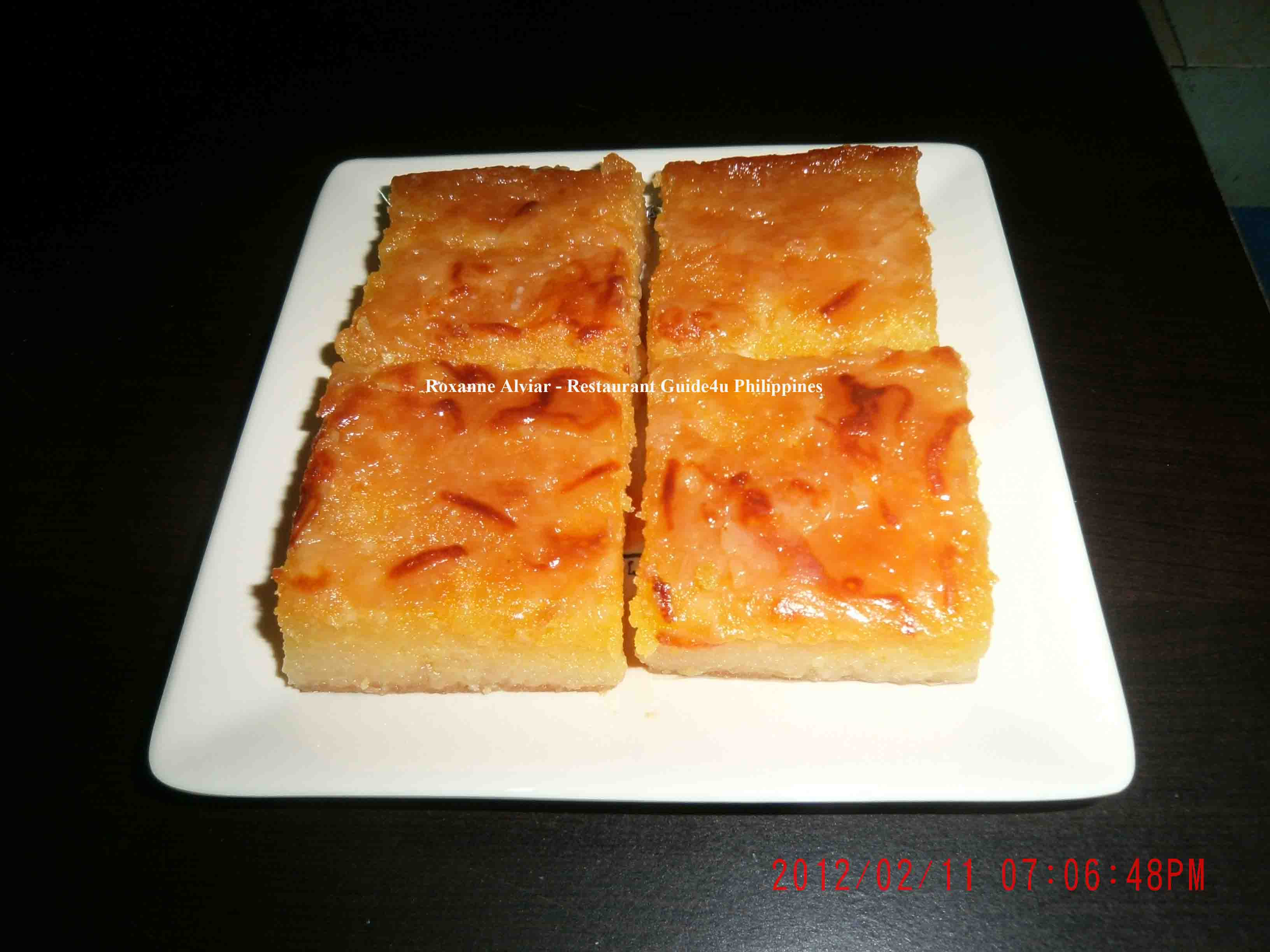 Cassava Cake Recipe - Snacks, Snacks & Canapés, Filipino recipes,