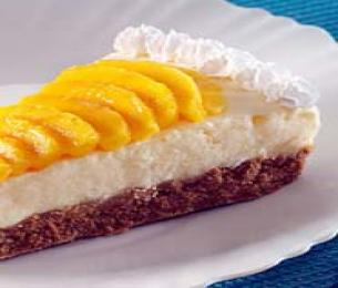 Frozen Mango Yogurt Pie