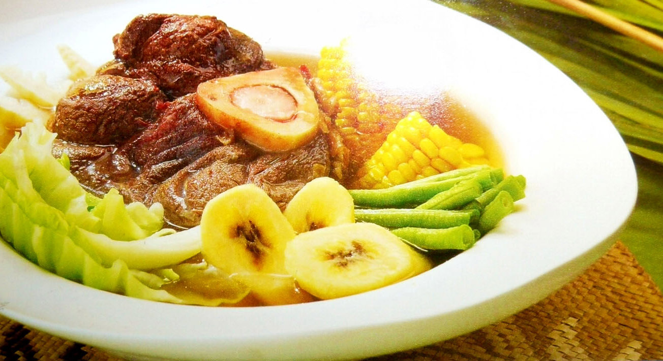 Savory Pochero Ilonggo Recipe - Stew, Main Courses, Filipino recipes,
