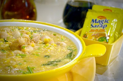 Suam na Mais (Pinoy Corn Soup)