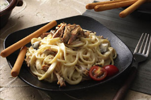Sardines Pasta Recipe - Pasta, Snacks & Canaps, Filipino recipes, 