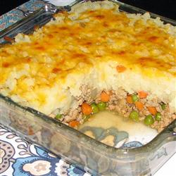 Irish Shepherd's Turkey Pie