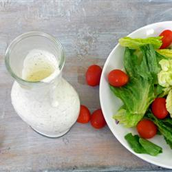 Creamy Italian Dressing Recipe - Salads, Sauces, pickles and condiments, Italian recipes,