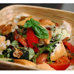 Mid-Summer Italian Bread Salad