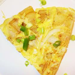 Spanish Potatoe Omelet Recipe by Irish Chef - Recipe Course: Main Courses - Recipe Type: Eggs - Recipe Cuisine: Spanish recipes
