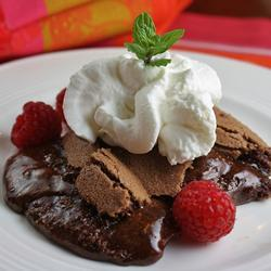 Swedish Sticky Chocolate Cake (Kladdkaka)