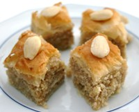 Baklavas Recipe - Desserts & Puddings, Desserts & Puddings, Middle Eastern recipes,