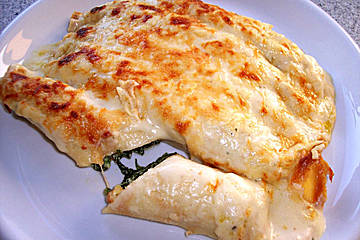 Crespelle alla Fiorentina Recipe - Pasta, Main Courses, Italian recipes,