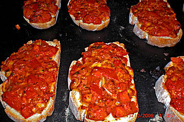 Bruschetta - Brot Recipe - Baking & Breads, Cakes & Bakes, Italian recipes,