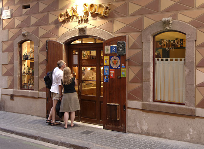 Restaurant in Barcelona, Spain