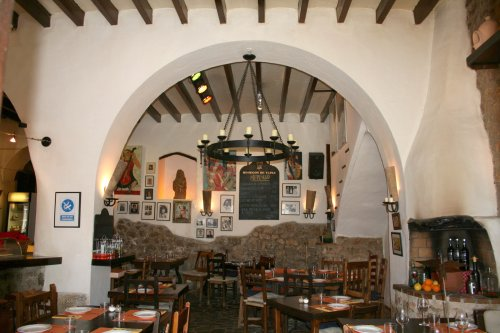 Restaurant in Deià, Spain