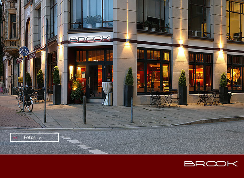 Brook Restaurant Restaurant in Hamburg, Germany