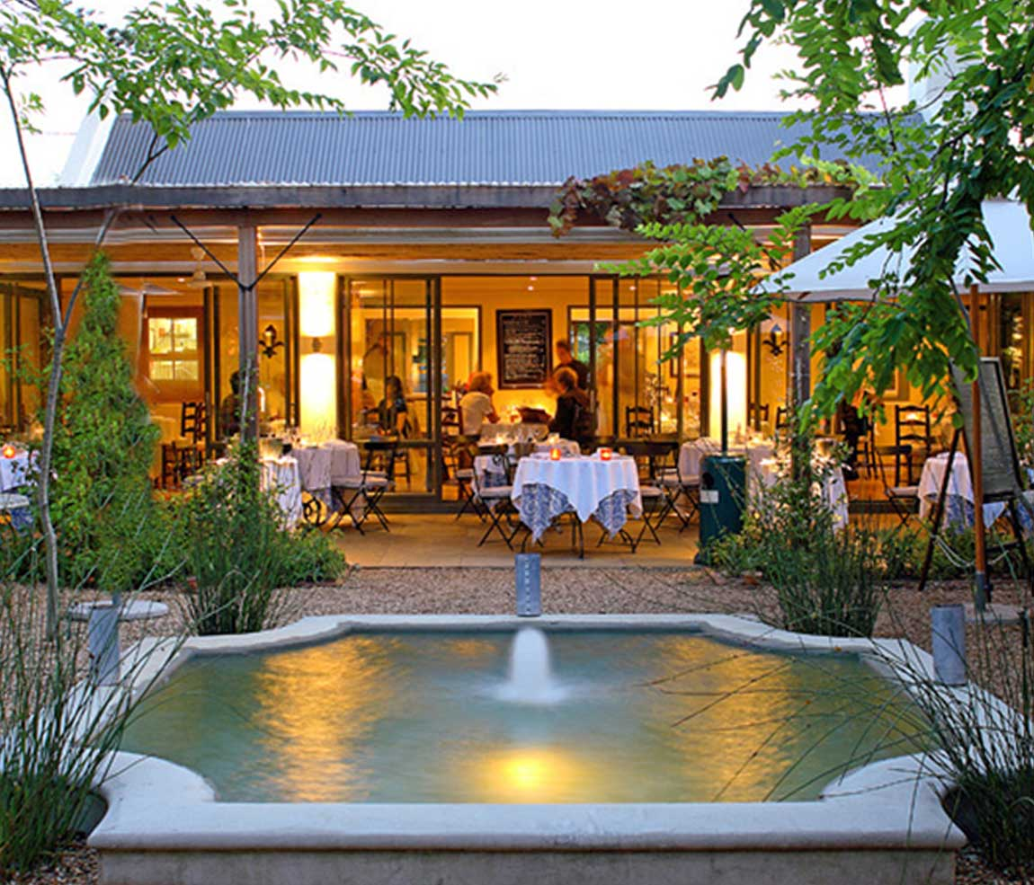 La Colombe Restaurant in Constantia - Cape Town,