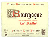 DOMAINE BERTHAUT VINCENT ET DENIS Vineyard by NA - Vineyard Country: France - Vineyard Region: Burgundy (Bourgogne)