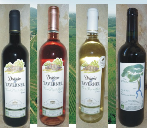 Domaine de Tavernel Blanc - Rouge - Ros Wine - White Blended Wines, Vermentino, Languedoc, France