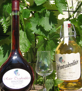 Traubenbrand Rheinhessen Wine - Spirits / Liqueurs, Huxel, Rheinhessen, Germany