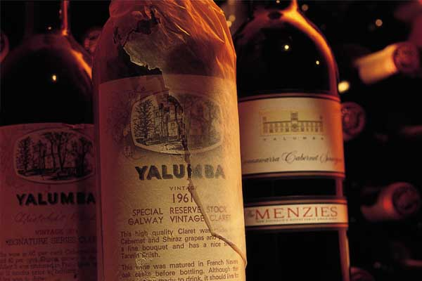 YALUMBA Museum Reserve 50 Year Old Wine - Red Blended Wines, Shiraz, South Australia wines, Australia