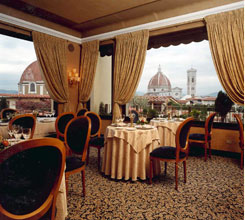 Grand Hotel Baglioni Restaurant In Florence Italy